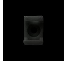 Площадка под стяжку до 5мм (15x1.0 H-7мм Ø отв. 3мм) черная 100шт.