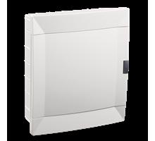 Внутрений распределительный щит MAKEL 24-х модульний (белая крышка)