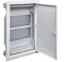 Встраиваемый распределительный щит 2 рядный металические двери мультимедийный  VOLTA Hager VU24NWB