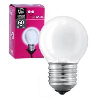 Лампа накаливания шар 60D1/F/E27 240V матова GE Угорщина
