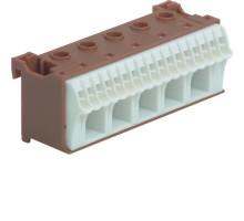 Блок фазных клемм 5x16мм2+17x4мм2 ширина 90мм Hager QiuckConnect KN22P